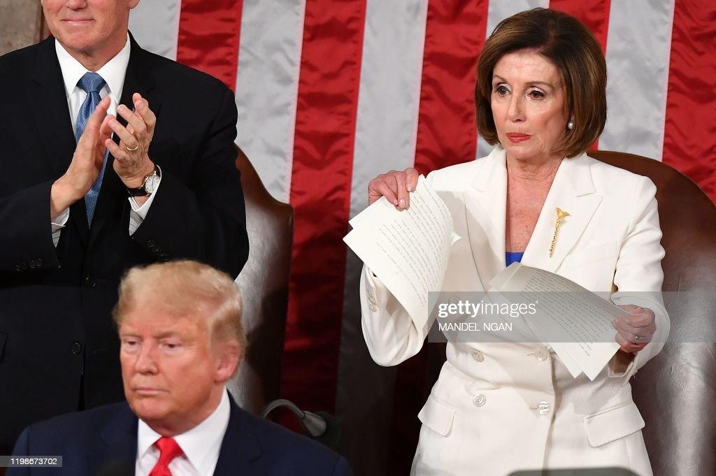 US-POLITICS-TRUMP-SOTU : News Photo