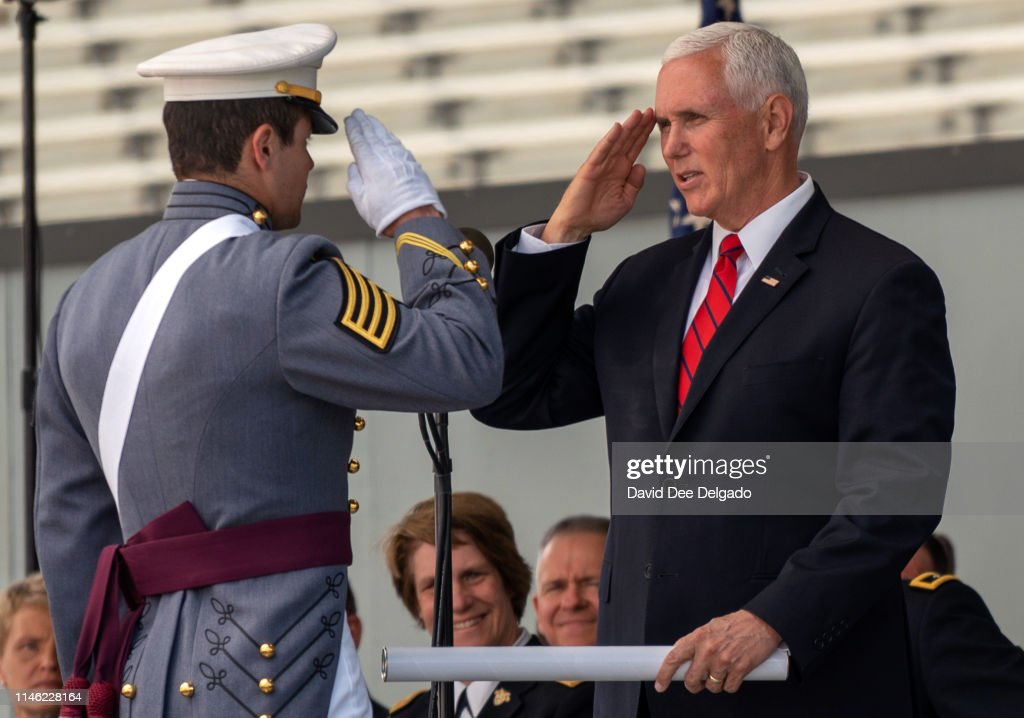 NY: Vice President Mike Pence Delivers Commencement Speech At West Point Graduation