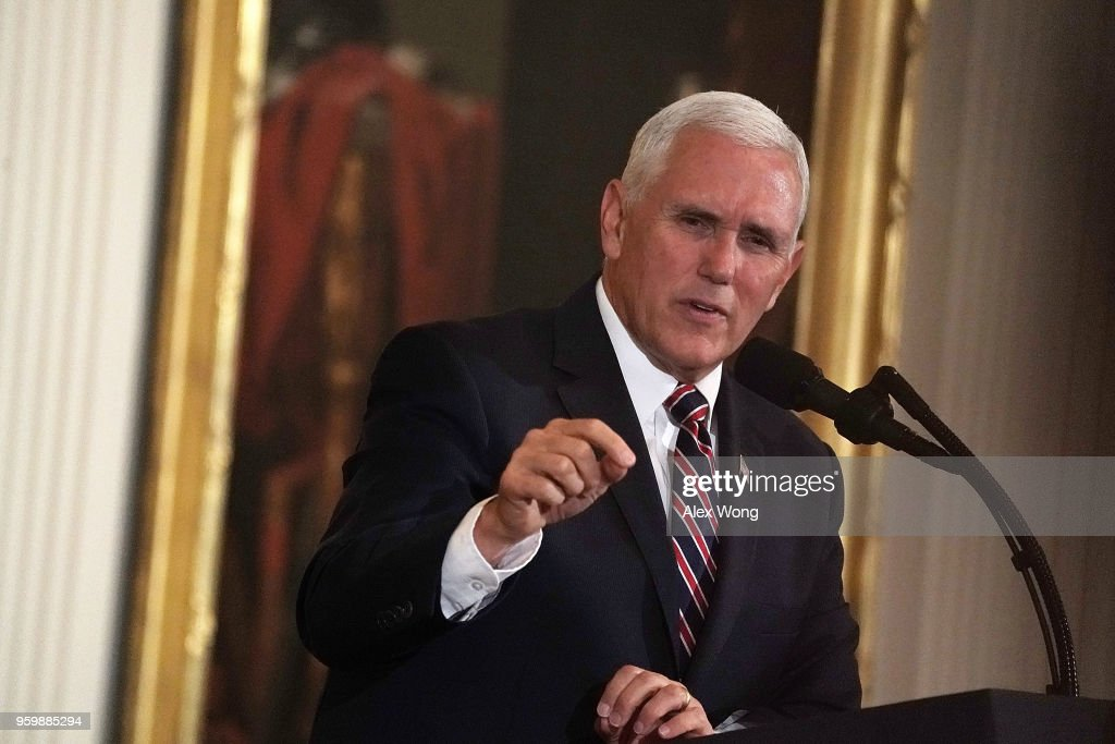 President Trump Speaks At White House  Prison Reform Summit : News Photo