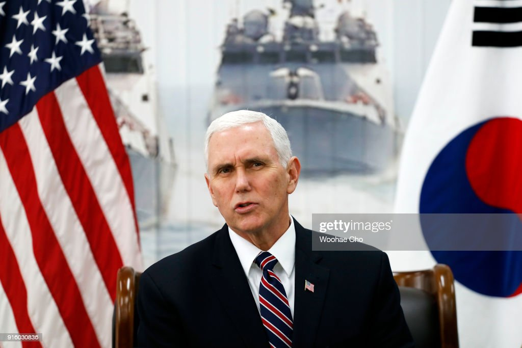 U.S. Vice President Mike Pence Visits South Korea - Day 2