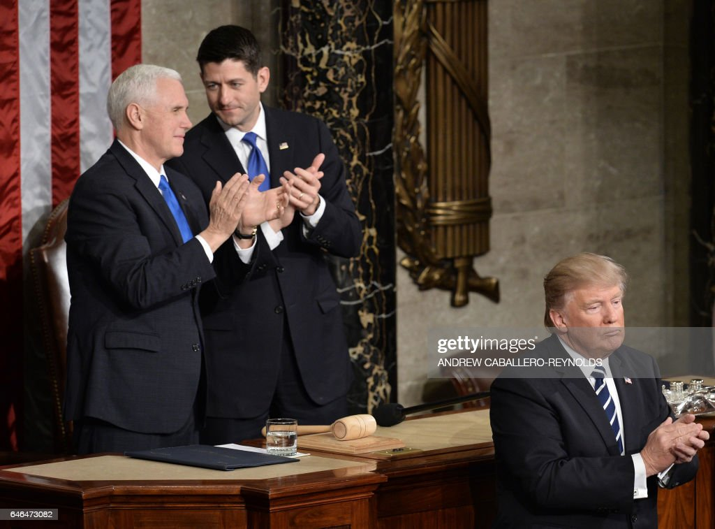 US-POLITICS-TRUMP-CONGRESS : News Photo