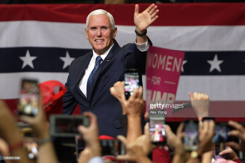 President Trump Holds Campaign Rally In Chattanooga, Tennessee : ニュース写真