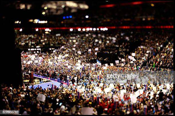 Vice President nominee Sarah Palin addresses the third session of the 2008 Republican National Convention in the Xcel Energy Center in St Paul...