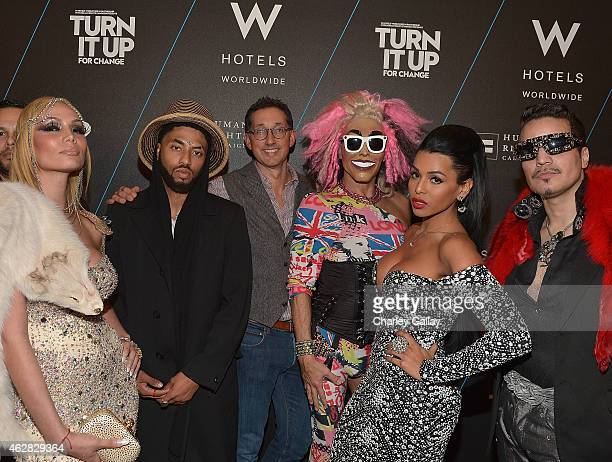 Vice President North America Brand Management W Hotels Anthony Ingham and guests attend W Hotels TURN IT UP FOR CHANGE Ball To Benefit HRC At W...
