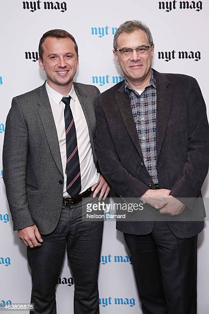 Vice President of Advertising at The New York Times Sebastian Tomich and SVP Ad Products and RD at The New York Times Michael Zimbalist attend The...