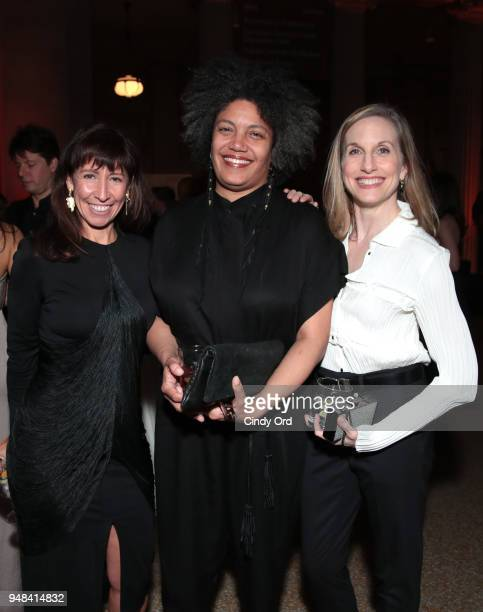 Vice President of Artistic Programs Lisa Leone Baryshnikov Arts Center's Georgiana Pickett and Wendy Whelan attend National YoungArts Foundation New...