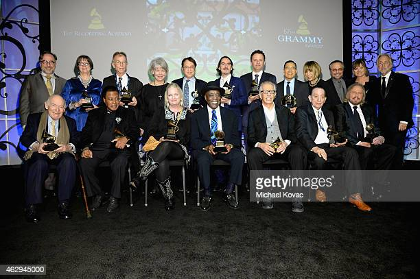 Vice President of Awards for The Recording Academy Bill Freimuth honoree Martha Gilmer Recording artist Charlie 'Sonny' Louvin Jr Denise Holleman...