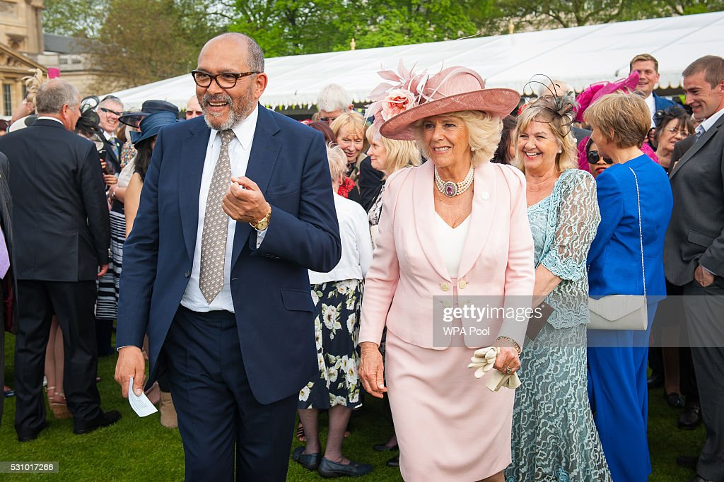 Garden Party At Buckingham Palace To Celebrate 150 Years of Barnados Childrens Charity : News Photo