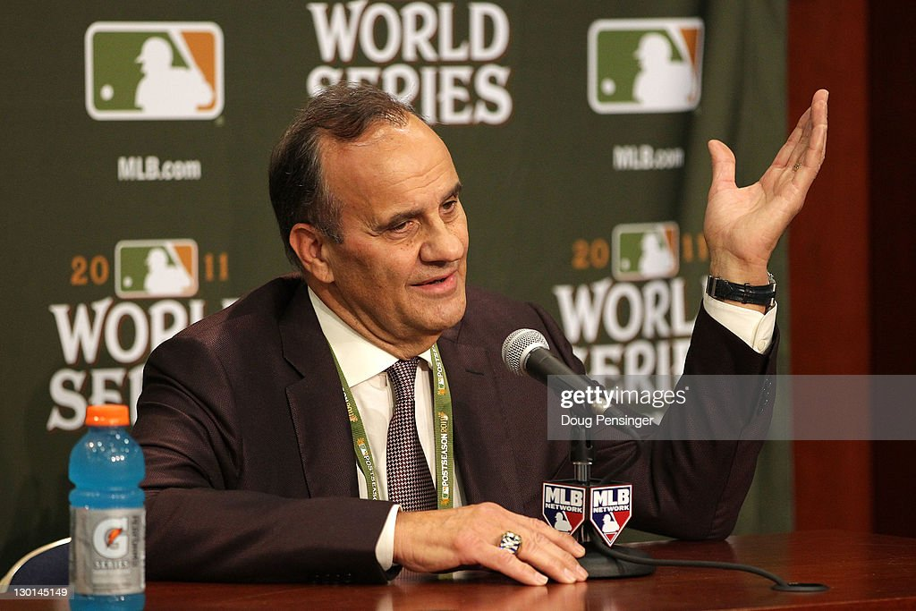 MLB vice president of baseball operations Joe Torre