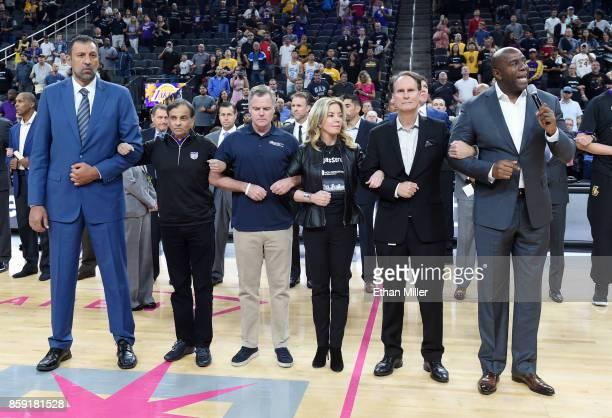 Vice president of basketball operations and general manager of the Sacramento Kings Vlade Divac Sacramento Kings owner Vivek Ranadive MGM Resorts...