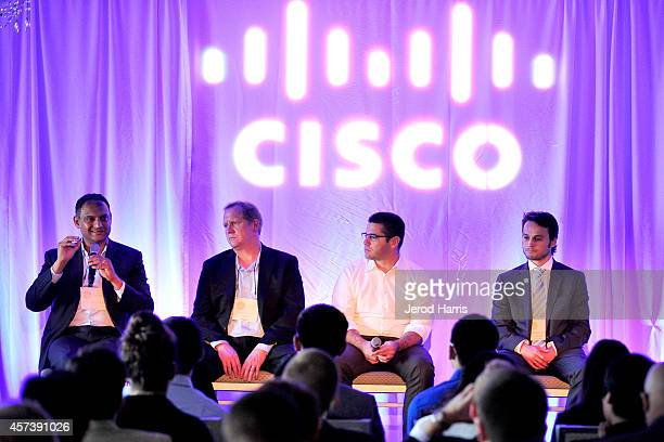 Vice President of CISCO Systems Pankaj Srivastava Director of CISCO Services Peter Mason Director of Global Product Management for Belkin Ohad Zeira...
