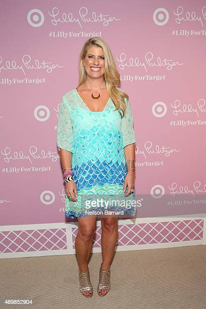 Vice President of Creative Communications at Lilly Pulitzer Jane Schoenborn attends the Lilly Pulitzer For Target Launch Event at Bryant Park Grill...
