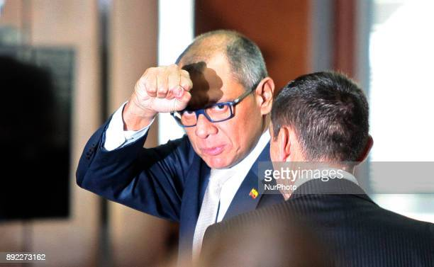 Vice President of Ecuador Jorge Glas is sentenced to six years in prison in the National Court of Justice for illicit association in the Odebrecht...