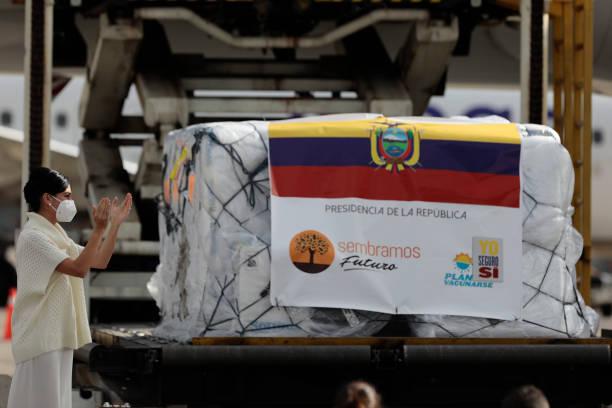 ECU: Ecuador Receives First Batch Of Pfizer-BioNtech Vaccine