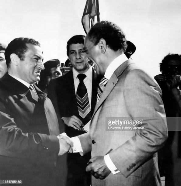 Vice President of Egypt. Hosni Mubarak with Anwar Sadat . President of Egypt. From 1970 until his assassination by fundamentalist army officers on 6...