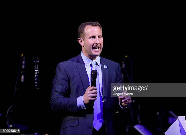 Vice President of Farm Animal Protection for the Humane Society of the United States Paul Shapiro speaks onstage during The Humane Society of the...
