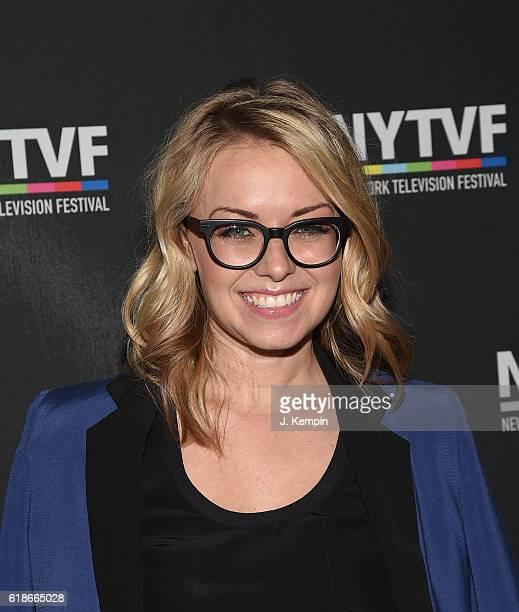 Vice President of HBO Programming Kathleen McCaffrey attends the creative keynote 'A Conversation With 'Girls'' during the12th Annual New York...
