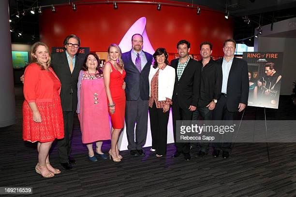 Vice President of Lifetime Movies Lisa Hamilton-Daly, actor John Doe, director Allison Anders, singer Jewel, writer John Carter Cash, Senior Vice...