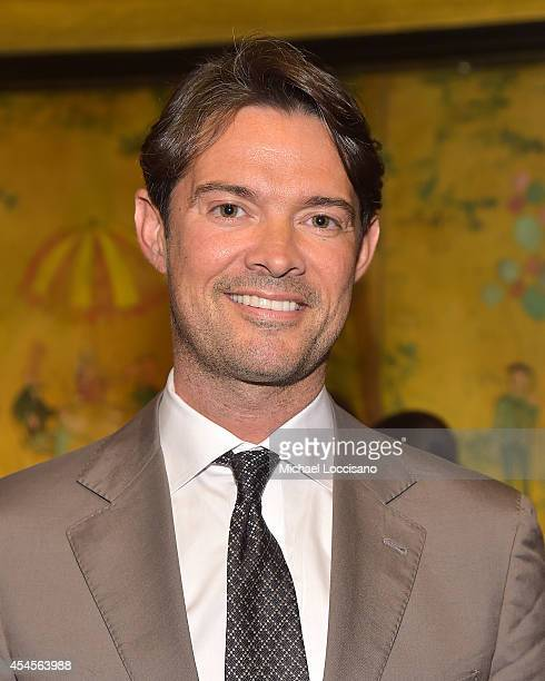 Vice President of Luxury for The New York Times and Publisher of T The New York Times Style Magazine Brendan Coolidge Monaghan attends the New York...