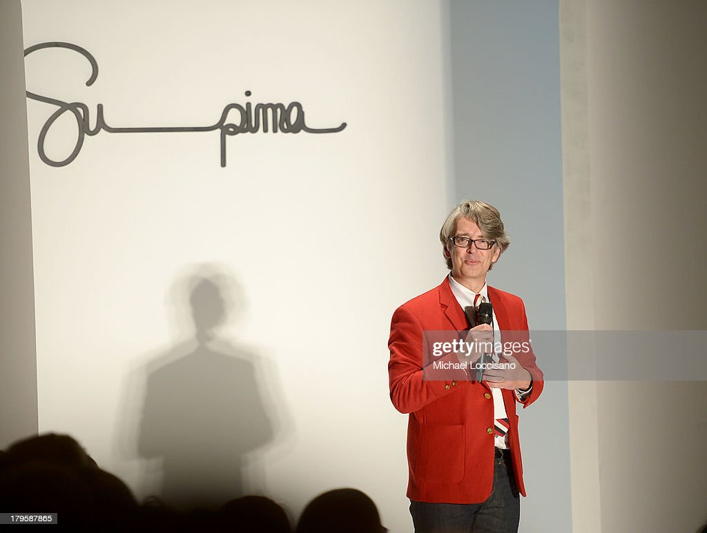 Vice President of Marketing at Supima, Buxton Midyette attends the Supima Spring 2014 fashion show during Mercedes-Benz Fashion Week at The Studio at Lincoln Center on September 5, 2013 in New York City.