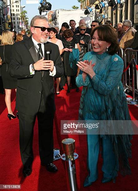 Vice President of Original Productions for Turner Classic Movies Tom Brown and actress Ann Blyth attend the Funny Girl screening during the 2013 TCM...