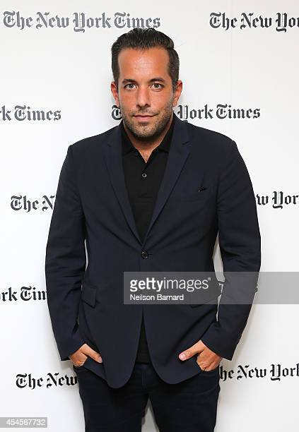 Vice President of PR at Prada Christian Langbein attends the New York Times Vanessa Friedman and Alexandra Jacobs welcome party on September 3 2014...