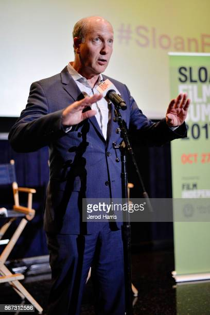 Vice President of Programs for Alfred P Sloan Foundation Doron Weber attends Sloan Film Summit 2017 Day 1 at Regal Cinemas LA Live on October 27 2017...