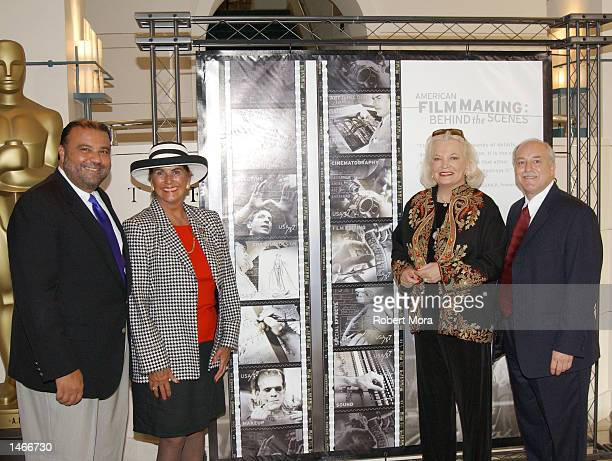 Vice President of Public Affairs and Communications-USPS Azeezaly Jaffer, Daughter of actor Boris Karloff Sara Karloff, actress Gena Rowlands,...