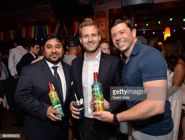 Vice President of SMIRNOFF Jay Sethi SMIRNOFF Brand Manager Jamie Young and Adam Marquez Associate Director of Corporate Development for the Human...