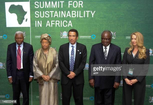 Vice president of Tanzania Mohamed Gharib Bilal President of Liberia Ellen Johnson Sirleaf President of Botswana Ian Khama President of Namibia...