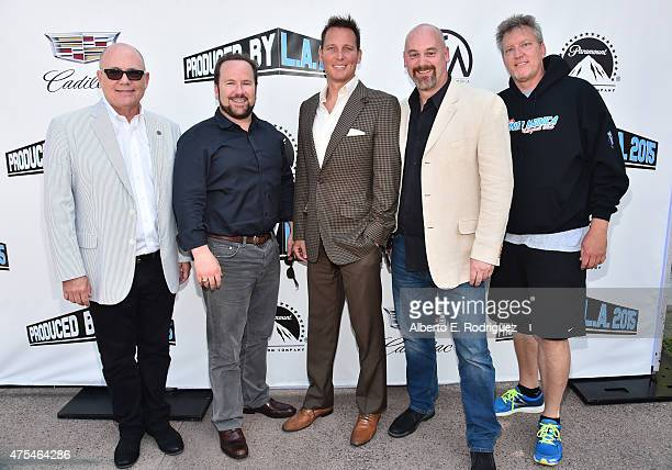 Vice President of Television Producers Guild of America Tim Gibbons CEO Leftfield Entertainment Brent Montgomery Chief Creative Officer 3 Ball...