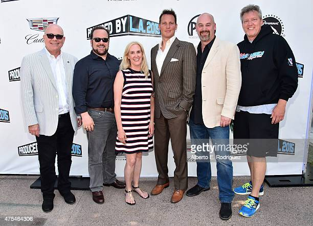 Vice President of Television Producers Guild of America Tim Gibbons CEO Leftfield Entertainment Brent Montgomery Associate National Executive...