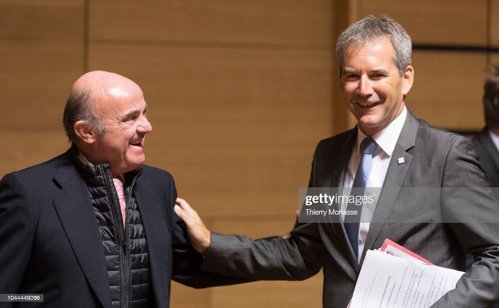 Vice President Of The European Central Bank Luis De Guindos Jurado