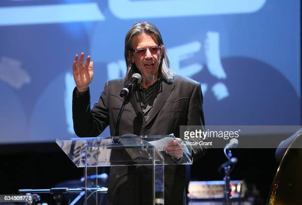 Vice President of the GRAMMY Foundation Scott Goldman attends the annual GRAMMY In The Schools Live – A Celebration of Music Education presented by...