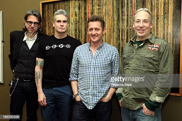 Vice President of the GRAMMY Foundation Scott Goldman musician Henry Rollins director Alex Winter and Jordan Berliant of The Collective Music Group...