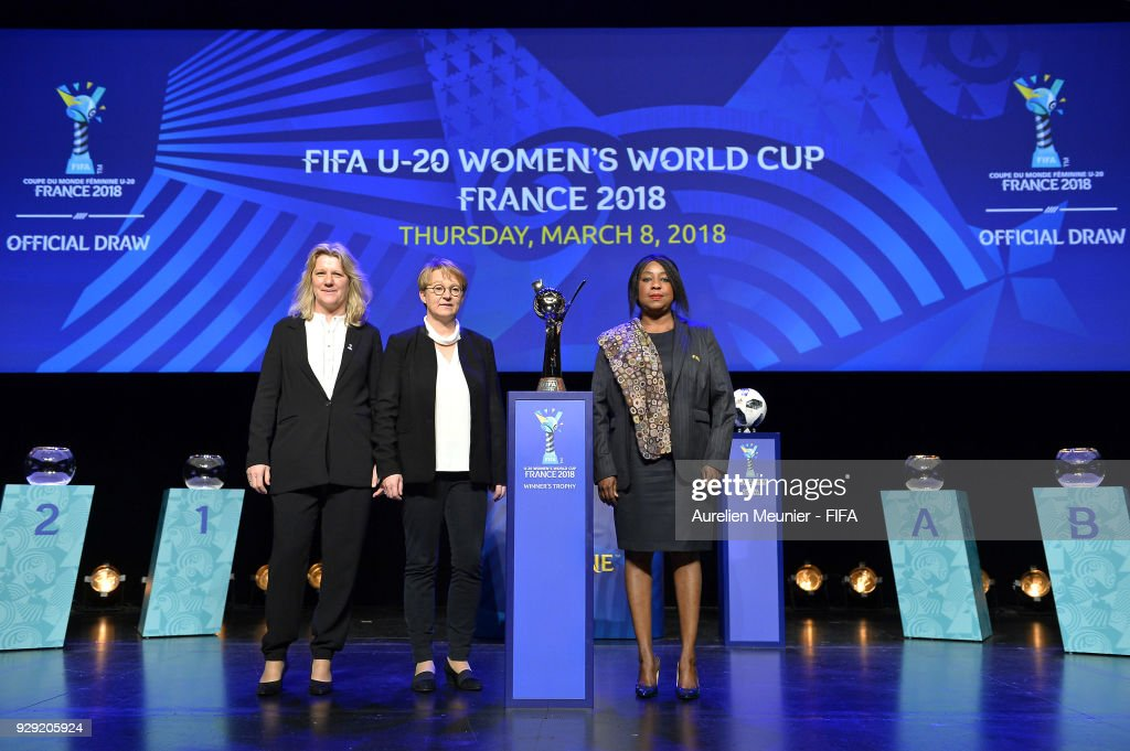 Official Draw for the FIFA U-20 Women's World Cup France 2018