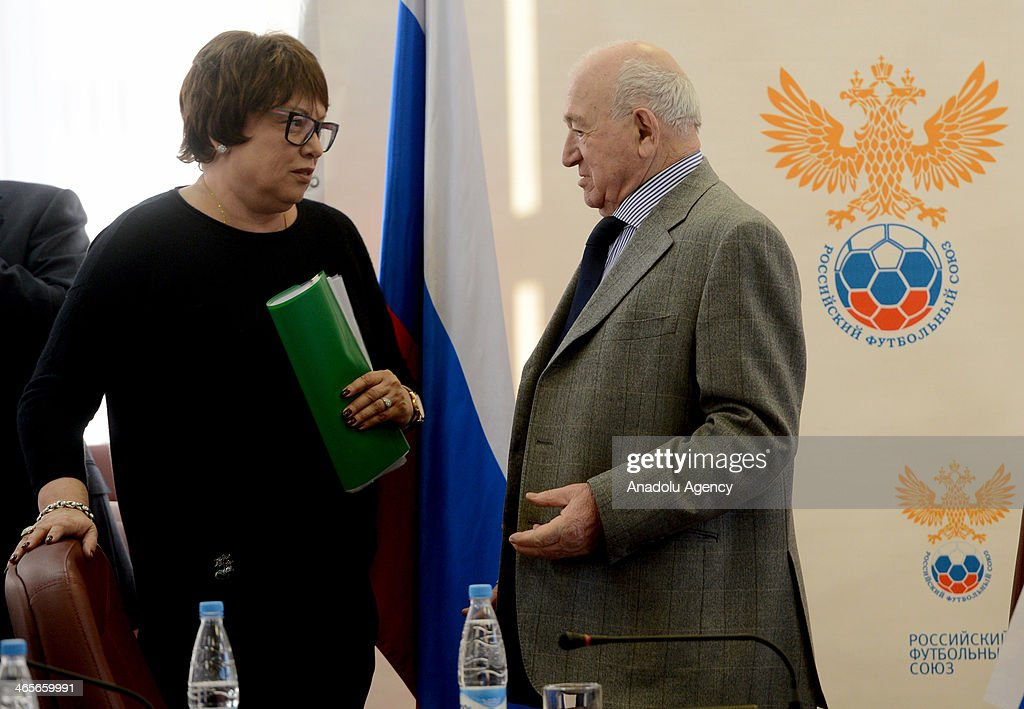 Annual meeting of Russia Football Union : News Photo