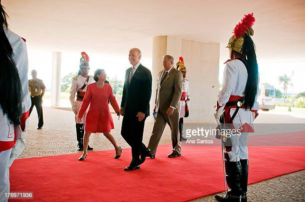 CONTENT] Vice President of the United States Joe Biden at Palácio do Planalto on Friday May 31 2013 for a meeting with the President of Brazil Dilma...