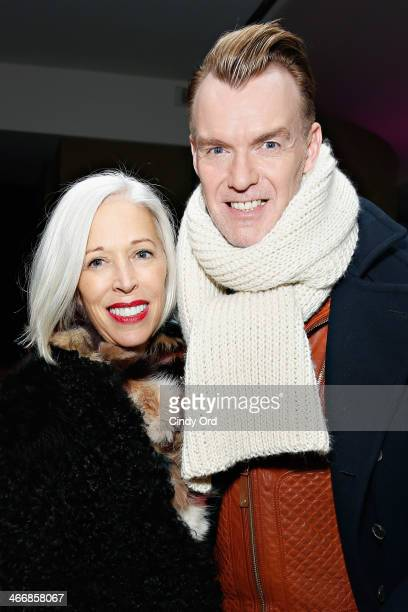 Vice President of Visual Merchandising at Bergdorf Goodman Linda Fargo and Senior vice president fashion director of Neiman Marcus Ken Downing attend...