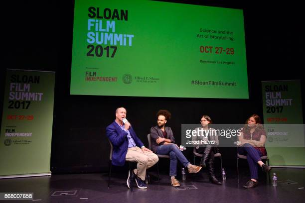 Vice President Programs and Program Director at the Alfred P Sloan Foundation Doron Weber Shawn Snyder Ginny Mohler and Lydia Dean Pilcher attend...
