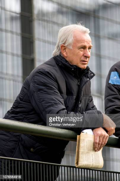 Vice President Rainer Bonhof of Borussia Moenchengladbach during a training session of Borussia Moenchengladbach at BorussiaPark on January 03 2019...