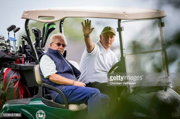Vice President Rainer Bonhof of Borussia Moenchengladbach during the Borussia Foundation Golf Tournament at Golfclub Schloss Myllendonk on September...
