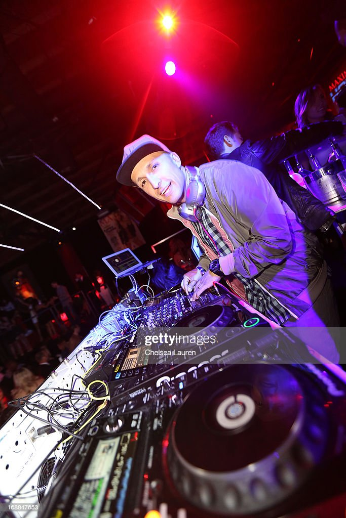 DJ Vice spins music at Maxim's Hot 100 Celebration at Create Nightclub on May 15, 2013 in Hollywood, California.
