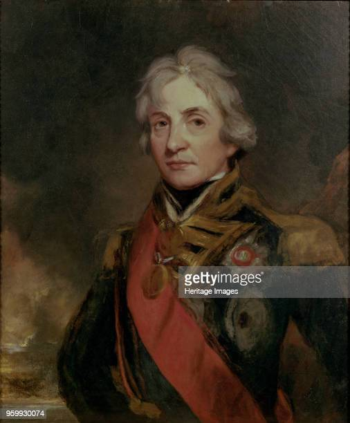 Vice-Admiral Horatio Nelson , 1802. Private Collection. )