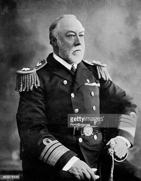 ViceAdmiral Sir Henry Fairfax British naval officer 1896 Fairfax was commander of the Channel Fleet from 1892 until his death A print from The Navy...