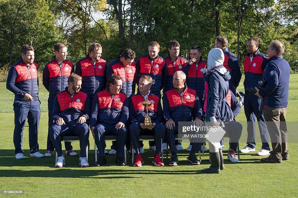 GOLF-USA-RYDER CUP-TEAM PHOTOCALL : News Photo