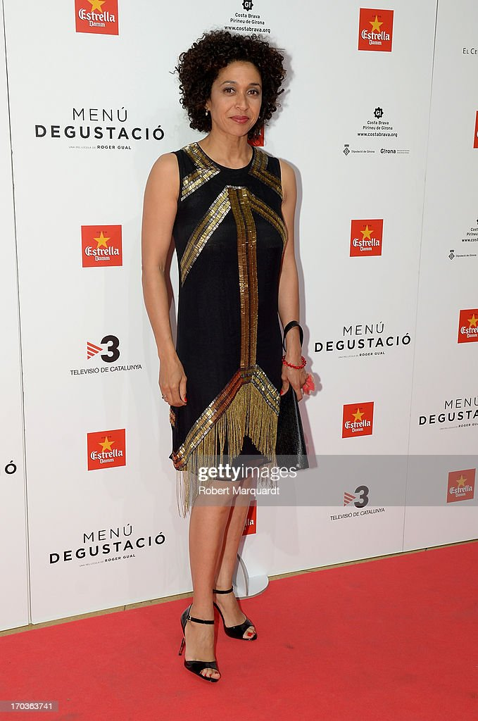 Vicenta N'Dongo attends the premiere of 'Menu Degustacion' at Comedia Cinema on June 10, 2013 in Barcelona, Spain.