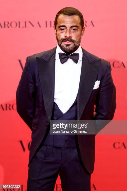 Vicente Dalmau attends Vogue 30th Anniversary Party at Casa Velazquez on July 12 2018 in Madrid Spain