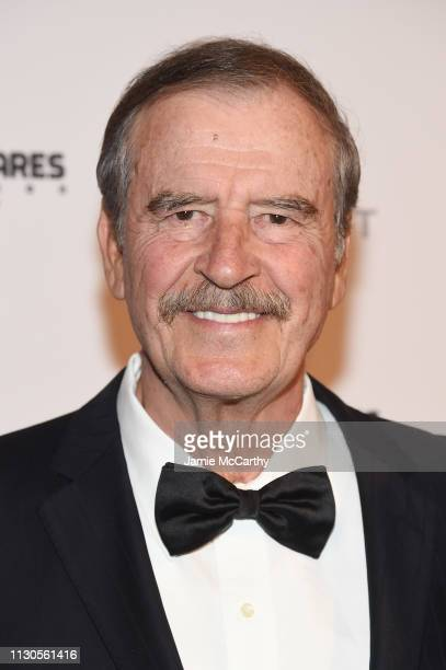 Vicente Fox attends the 2019 Maestro Cares Gala at Cipriani Wall Street on March 14 2019 in New York City