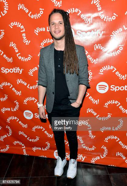 Vicente García at Spotify Celebrates Latin Music and Their Viva Latino Playlist at Marquee Nightclub on November 14 2017 in Las Vegas Nevada
